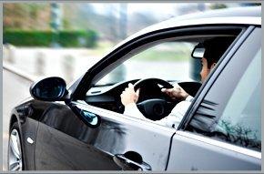 Drive testing a used car