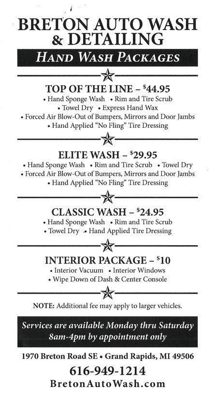 Hand Wash Flyer