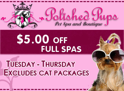 Polished Pups Spa & Boutique Coupon
