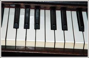 Piano keys refirnishing