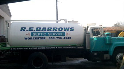 Sewage Service Contractor - Worcester, MA - Barrows Construction