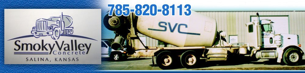 Concrete Contractor - Salina, KS - Smoky Valley Concrete