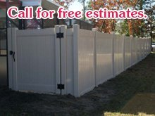 Fence - Ocala, FL - Rightway Fence Inc - Aluminum Fence - Call for free estimates.
