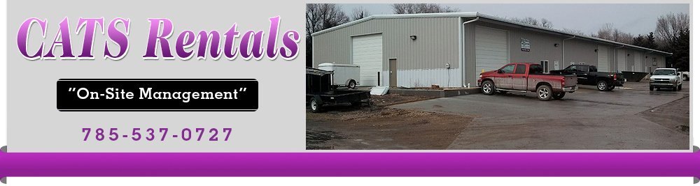 Storage Facility - Manhattan, KS - CATS Rentals
