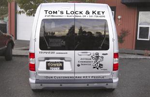 Locksmith Service  | North Bend, OR | Toms Lock & Key | 541-756-4295
