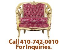 Antique Moving - Hebron, MD - Goose On The Roof Antiques - antique chair - Call 410-742-0010 For Inquiries.