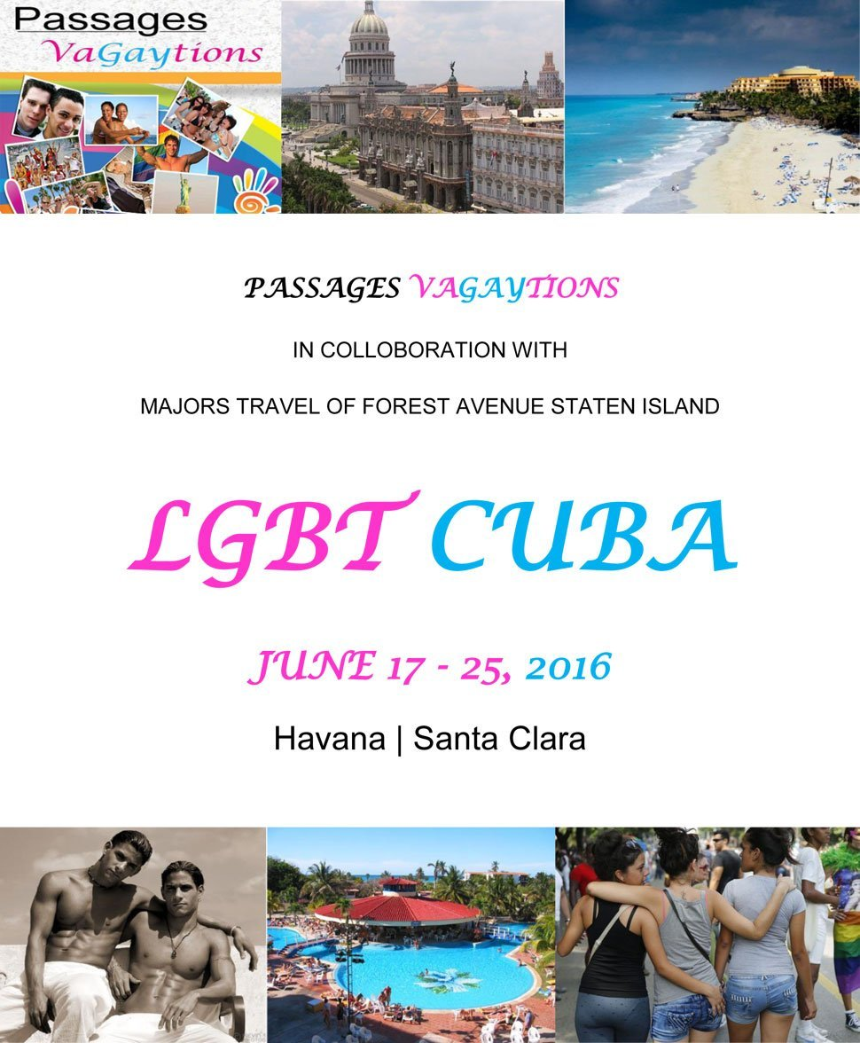 LGBT Cuba Tours | Staten Island, NY | Passages Vagaytions | 718-727-0021