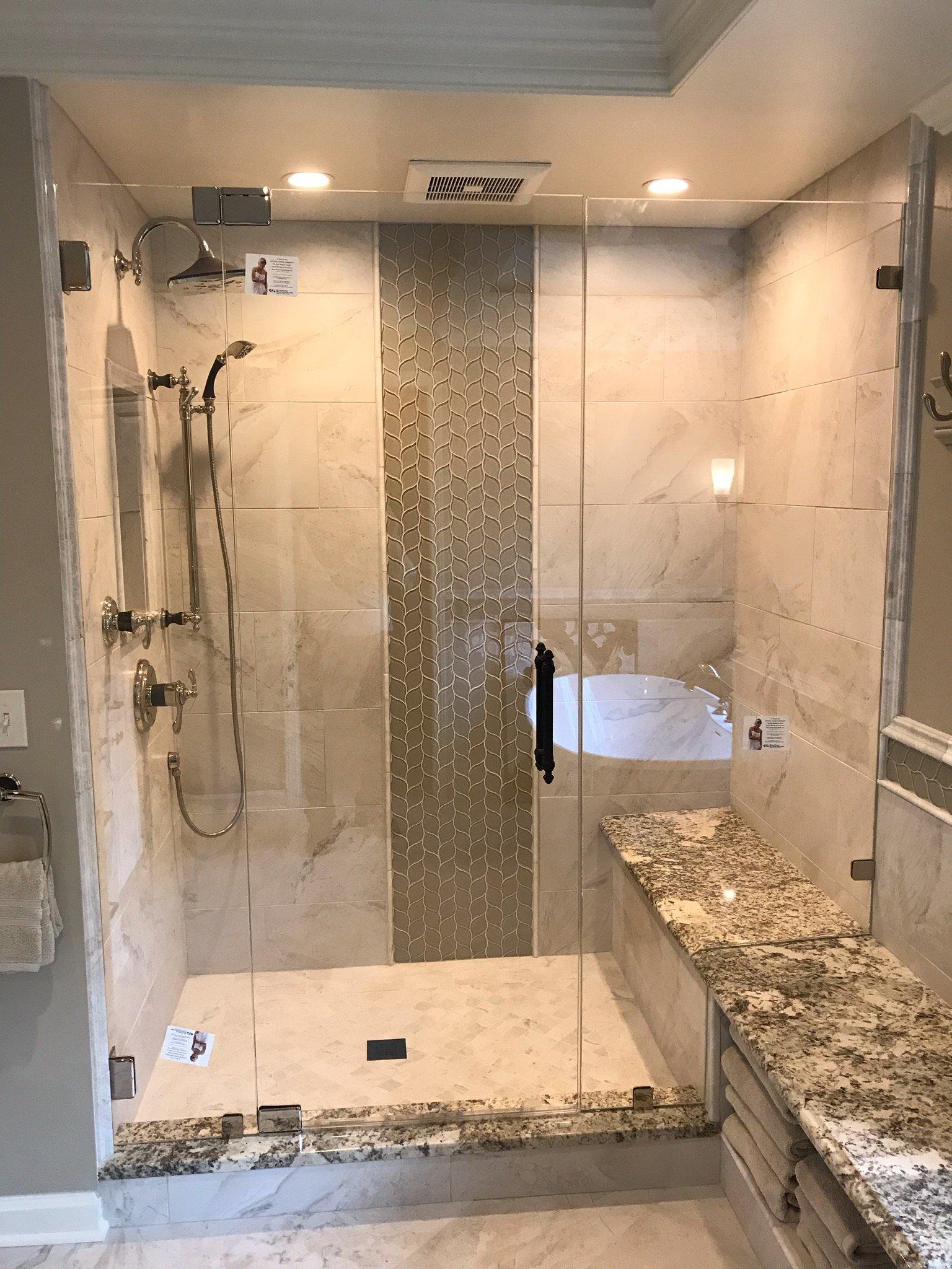 Custom Shower Doors Shower Door Designs Stow Oh