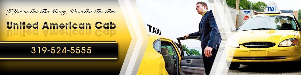 Taxicab Keokuk IA United American Cab