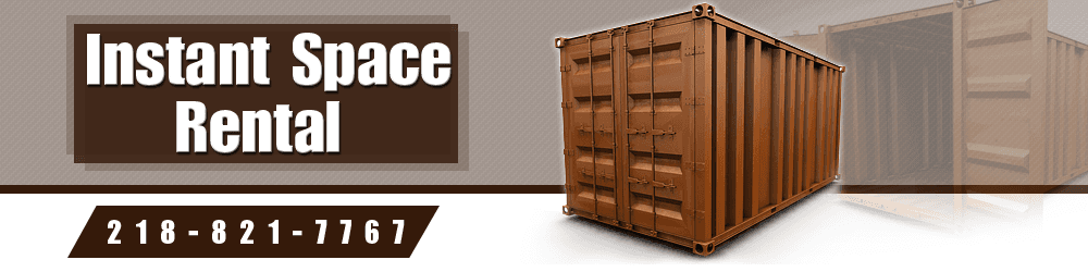 Portable Container Rental - Crosslake, MN - Instant Space Rental