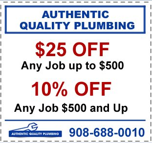 Authentic Quality Plumbing Coupon