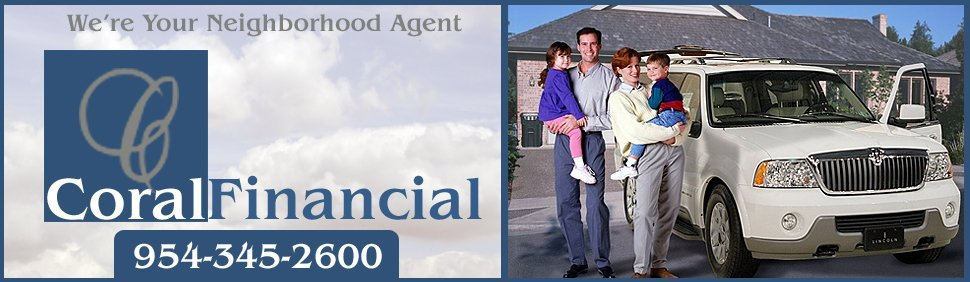 Insurance Agency - Coral Springs, FL - Coral Financial Group Inc.