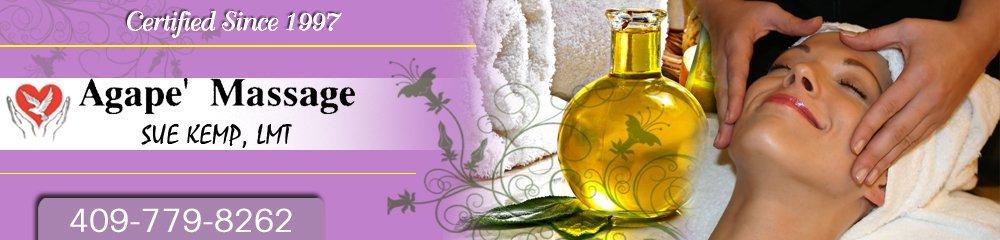 Massage Therapy - Orange, TX - AGAPE' Massage Sue Kemp, LMT