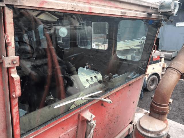 Heavy Equipment glass