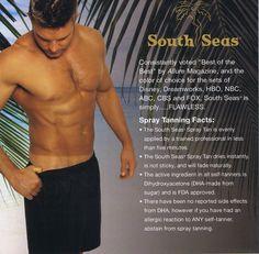 South Seas tan