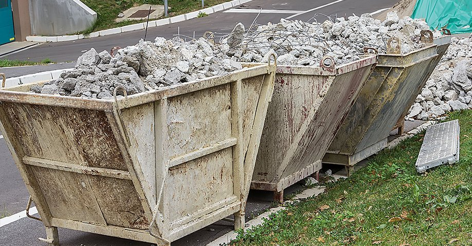 construction waste containers