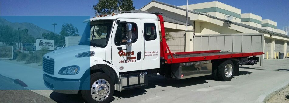 Vehicle Towing | Palm Springs, CA | Dave's Towing Service | 760-322-5441