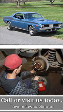 Auto Repairs - Towson, MD - Towsontowne Garage