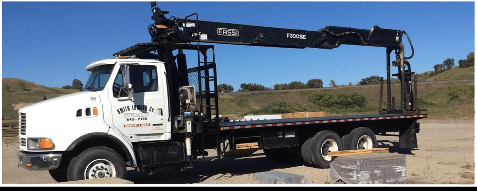 Smith Lumber Company service truck