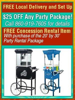 Concession Rentals - Marion, CT - EZ Party Rentals