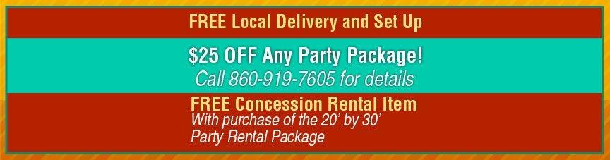 EZ Party Rentals - Concession Rentals - Marion, CT