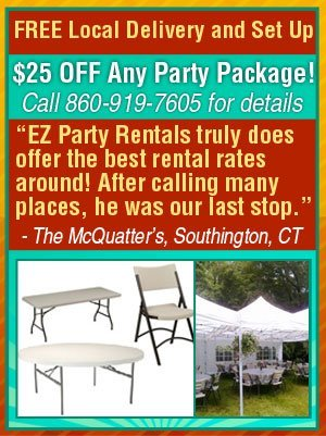 Party Rentals  - Marion, CT - EZ Party Rentals