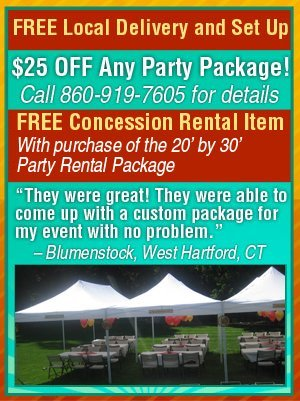 Rental Packages  - Marion, CT - EZ Party Rentals