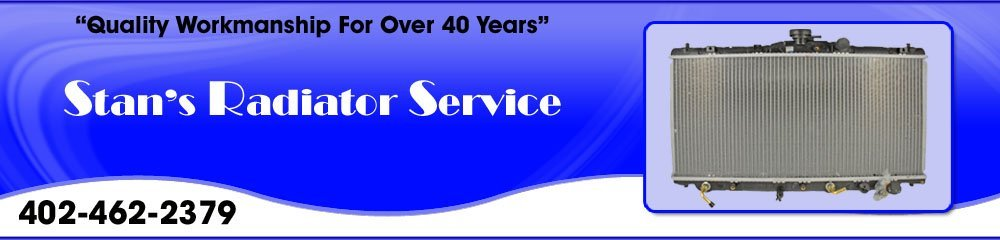 Radiator Services - Hastings, NE - Stan's Radiator Service