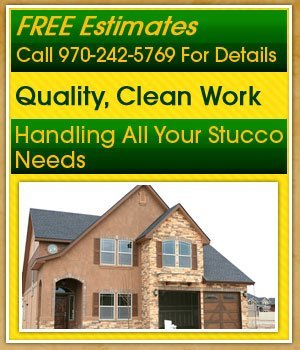 Stucco Contractor - Grand Junction, CO - Quality Stucco West
