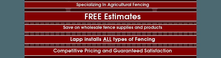 Lapp Fencing & Supply - Fencing And Fencing Supplies - Strasburg, PA