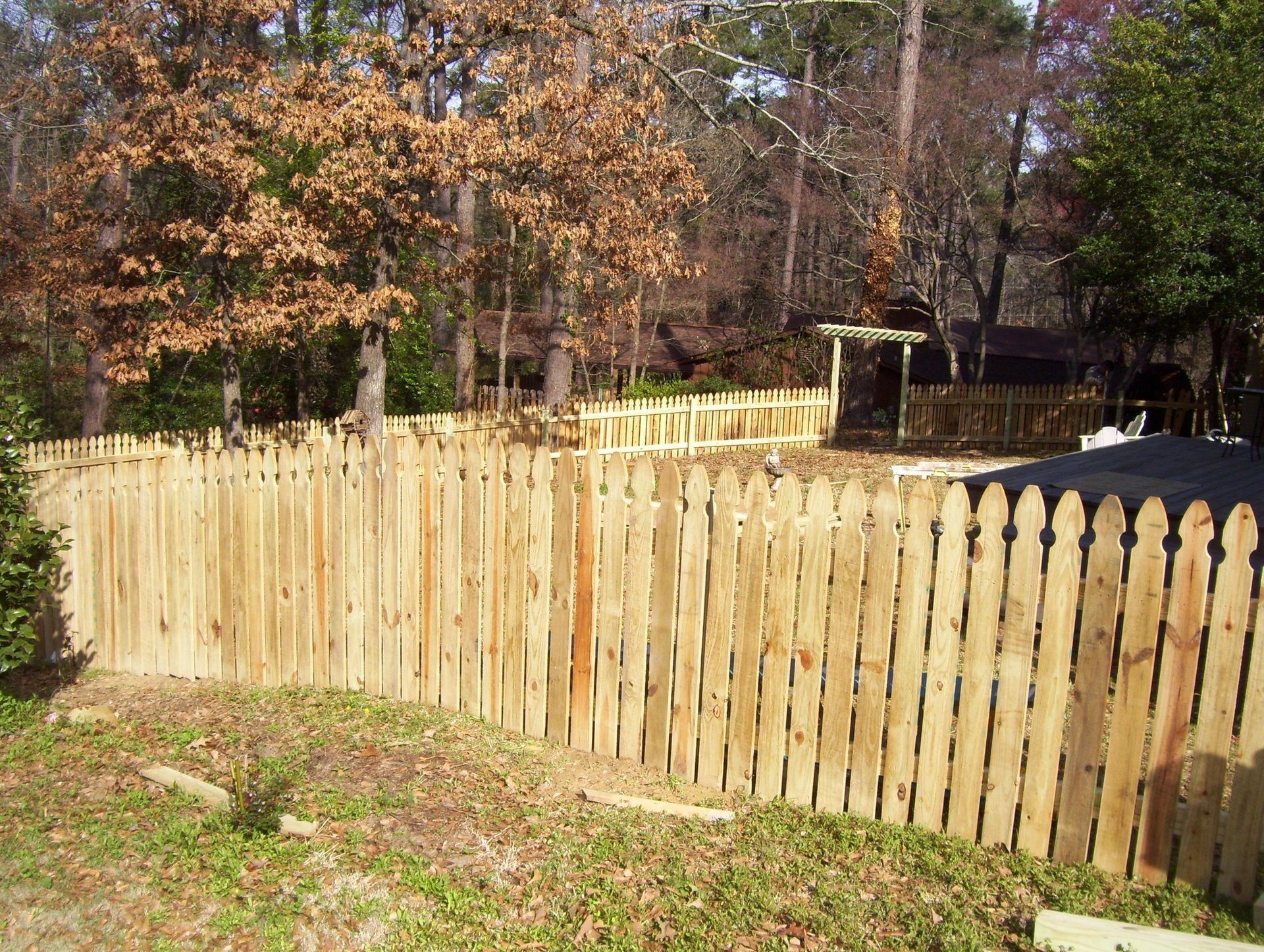 Outdoor fences