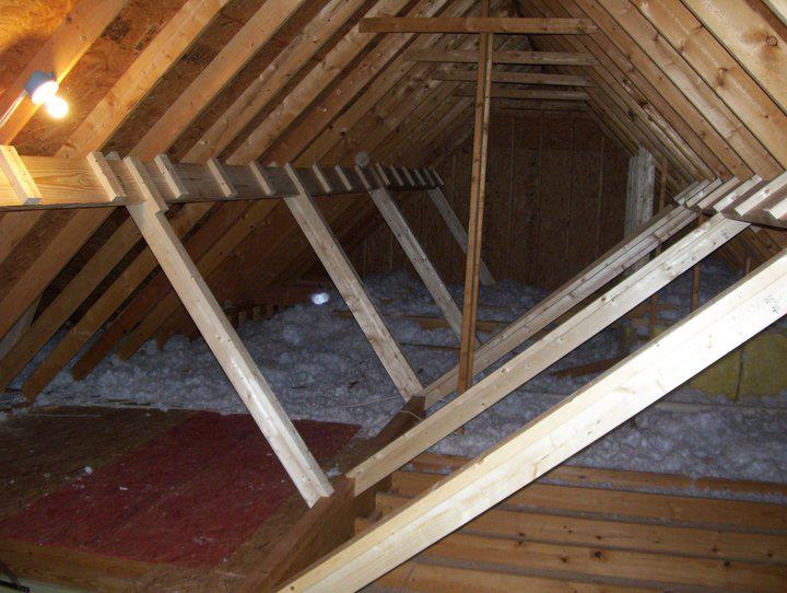 attic beams