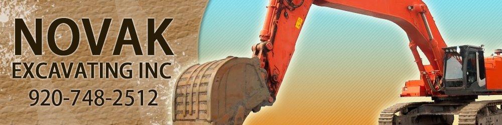 Excavating Company - Ripon, WI - Novak Excavating Inc