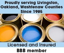 Painting Company - Brighton, MI - Keider Painting Company - Color Paints In Can