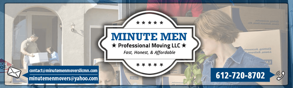 Moving Company - Burnsville, MN - Minute Men Professional Moving LLC