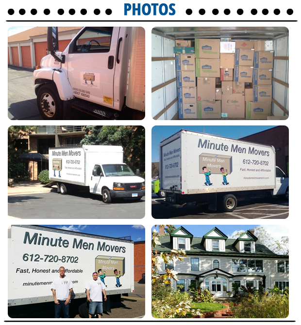 Moving Service - Burnsville, MN - Minute Men Professional Moving LLC