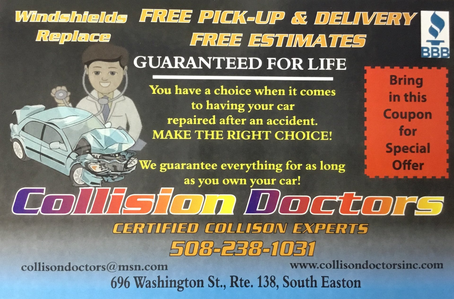 Collision Doctors Inc Photo Gallery | South Easton, MA