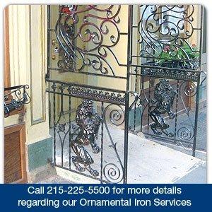 Ornamental Iron - Philadelphia, PA - AVC Iron Works - fence - Call 215-225-5500 for more details regarding our Ornamental Iron Services