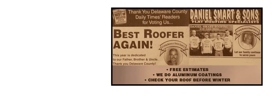 About Smart Roofing | Prospect Park, PA | Smart Roofing | 610-586-1000