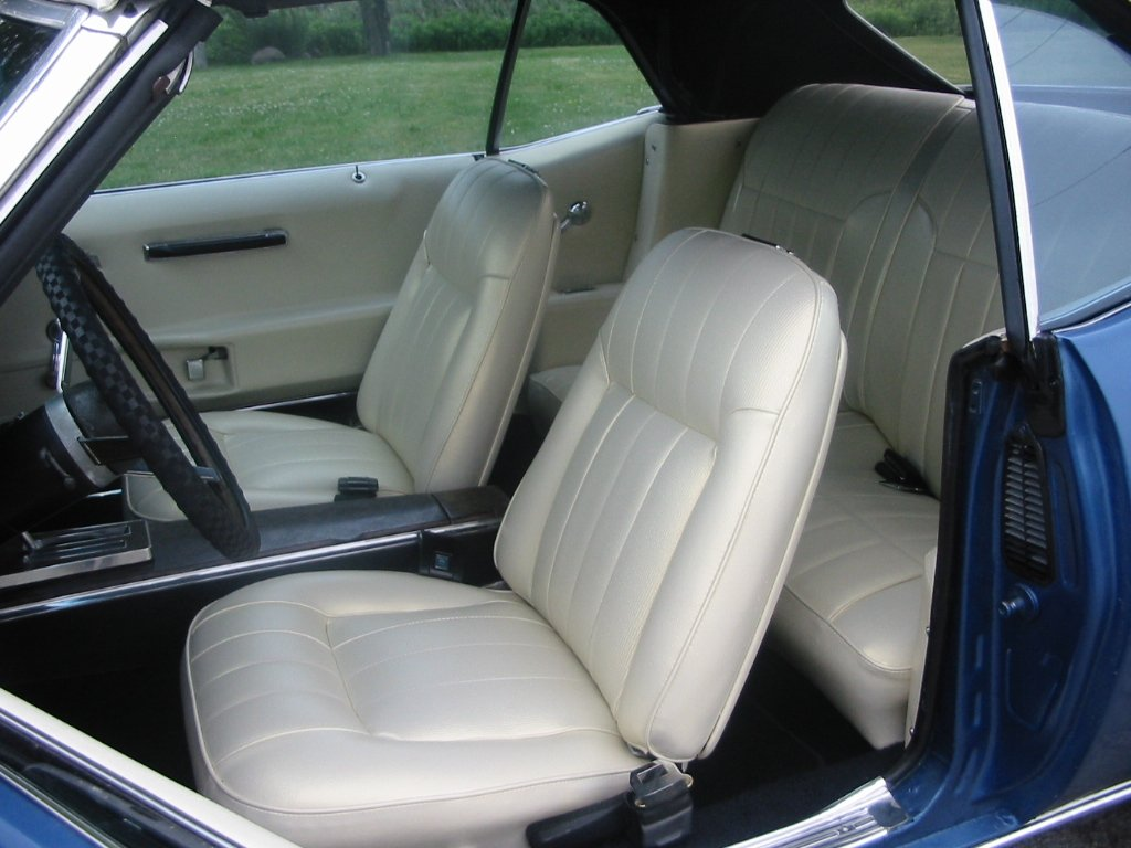 Car upholstery works