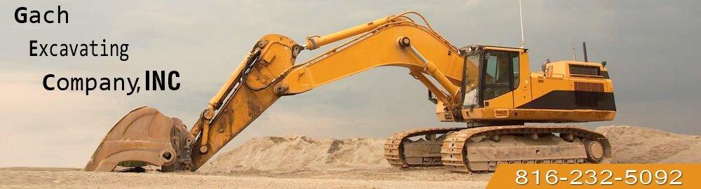 Excavators - Saint Joseph, MO  - Gach Excavating Company, Inc