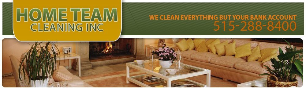 Cleaners Des Moines, IA - Home Team Cleaning INC 515-288-8400