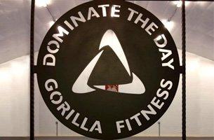 Gorilla Fitness circle symbol