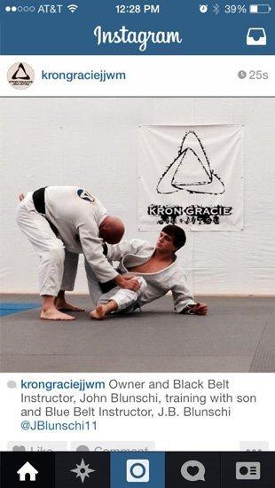 Martial artist on self defense