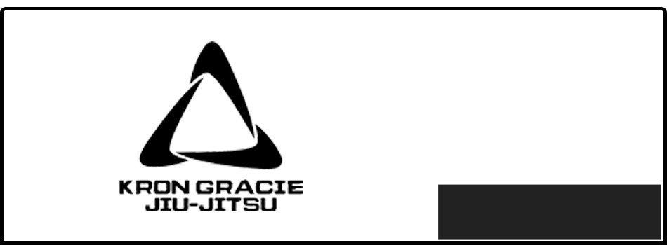 Logo of kron gracie jiu-jitsu