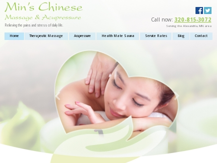 Min's Chinese Massage & Acupressure - Massage Alexandria