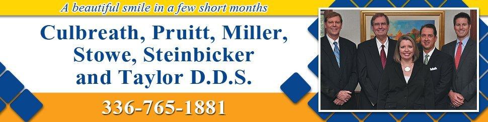 Dentists Winston Salem, NC - Culbreath, Pruitt, Miller, Stowe, Steinbicker and Taylor D.D.S.