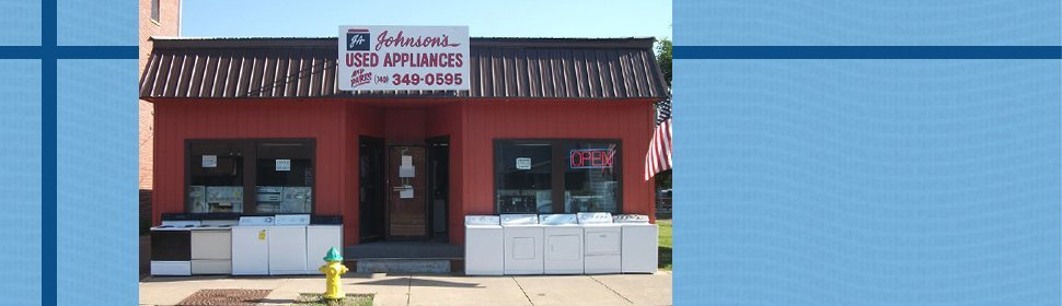 Appliance Sales | Newark, OH | Johnson Appliance | 740-349-0595