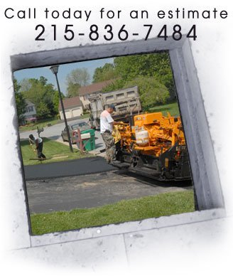 Paving Contractors -  Flourtown, PA - Iannuzzi Construction Co. Inc. -Paving Driveways -  Call today for an estimate  215-836-7484