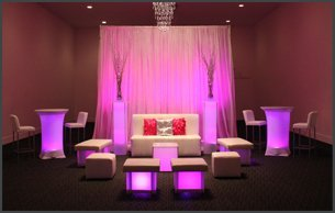 Beautiful party furnitures